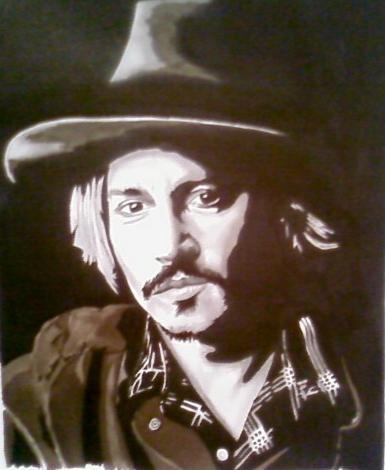 Johnny Depp por bilou6203
